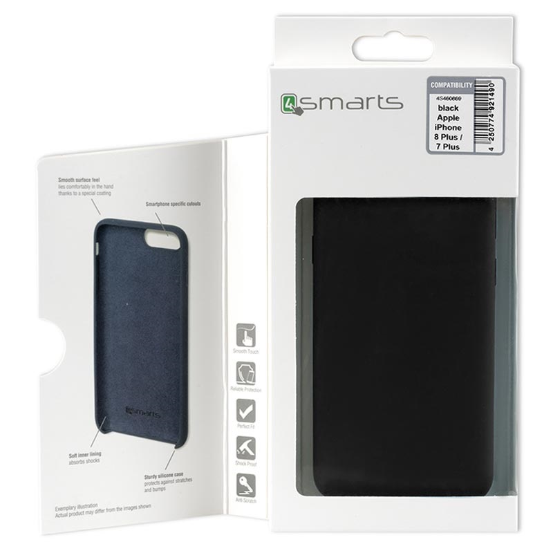 4smarts Cupertino iPhone XR Silicone Case - Black