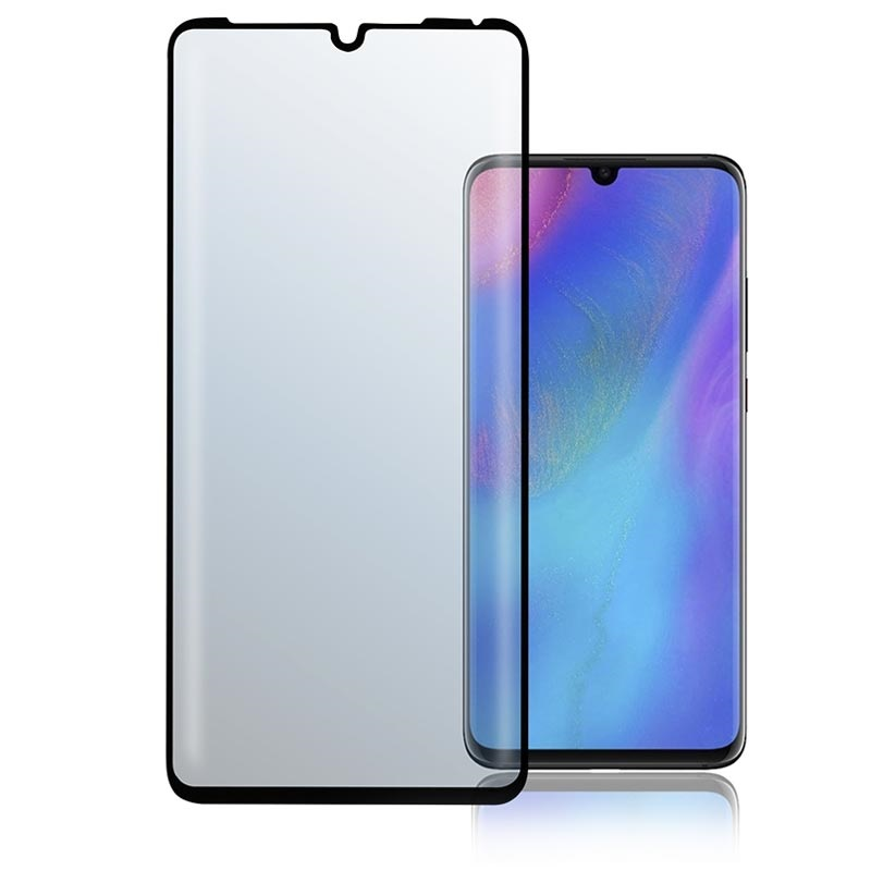 4smarts Curved Glass Huawei P30 Pro Screen Protector - Black
