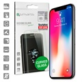 iPhone X 4smarts Curved Glass Screen Protector - Black