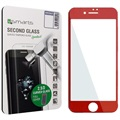 iPhone 7 4smarts Curved Glass Screen Protector - Red