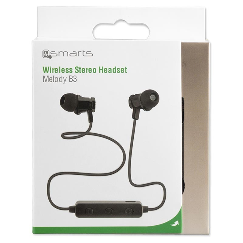 4smarts Melody B3 Bluetooth Stereo Headset - Black