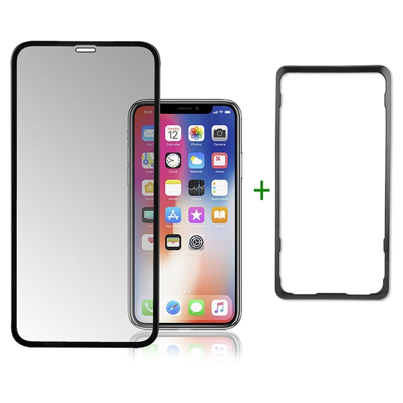 4smarts Second Glass Easy-Assist iPhone XR / iPhone 11 Screen Protector - Black