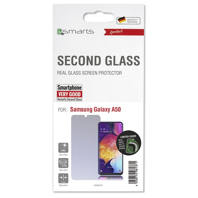4smarts Second Glass Samsung Galaxy A50 Screen Protector