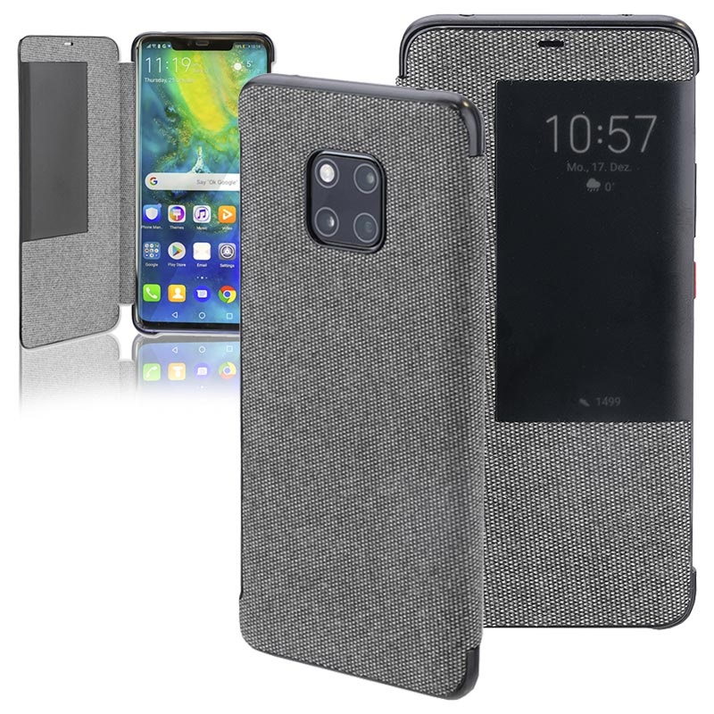 new products 133e6 dfc5a 4smarts Smart View Huawei Mate 20 Pro Flip Case