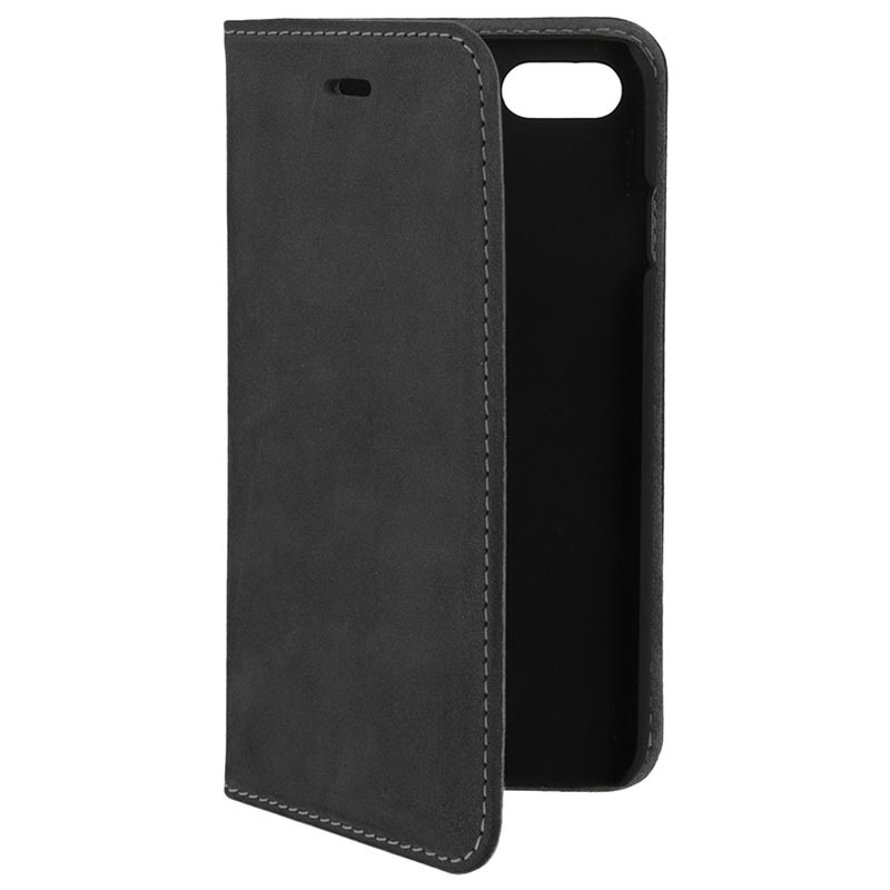 4smarts Trendline iPhone X / iPhone XS Wallet Leather Case - Black