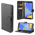 4smarts Urban Premium Samsung Galaxy A7 (2018) Wallet Case - Black