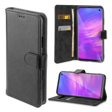 4smarts Urban Premium Samsung Galaxy S10 Wallet Case - Black