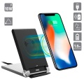 4smarts VoltBeam Fast Qi Wireless Charging Stand - Black