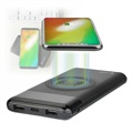 4smarts VoltHub Inductive Qi Power Bank - 10000mAh - Black
