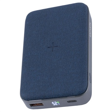 4smarts VoltHub Ultimate Wireless Power Bank - 10000mAh - Blue