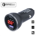 4smarts Voltroad 7P Fast Car Charger with Display - 6A