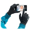 4smarts Winter Touch Screen Gloves - S/M - Black