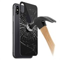 iPhone X / iPhone XS 5D Tempered Glass Back Cover Protector