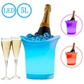 5L Waterproof Color-changing LED Ice Bucket