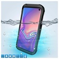 Active Series IP68 Samsung Galaxy S10 Waterproof Case - Black
