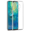 Scratch-Resistant Huawei Mate 20 Hybrid Cover - Crystal Clear