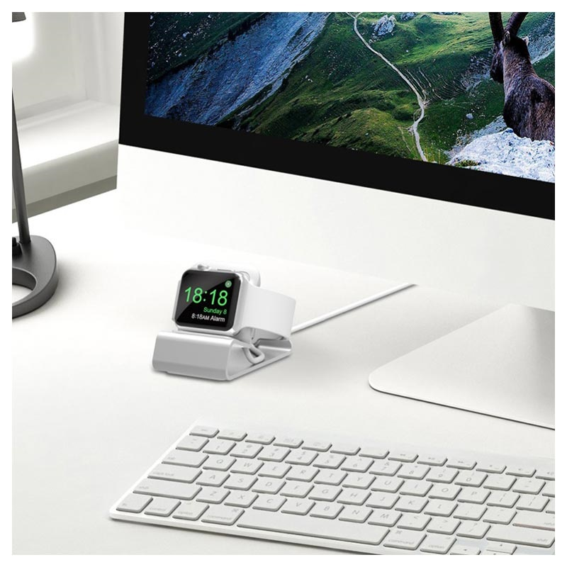 Aluminum Alloy Apple Watch Series 5/4/3/2/1 Charging Station