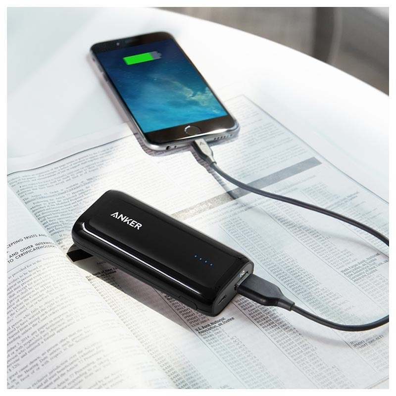 Anker Astro E1 Power Bank - 5200mAh - 5V/2A - Black