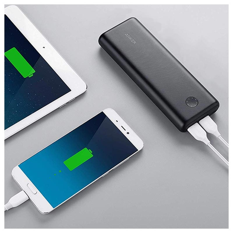 Anker PowerCore II 20000mAh Power Bank - 2x USB - Black