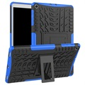 Anti-Slip Samsung Galaxy Tab A 10.1 (2019) Hybrid Case - Blue / Black