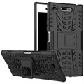 Sony Xperia XZ1 Anti-Slip Hybrid Case - Black