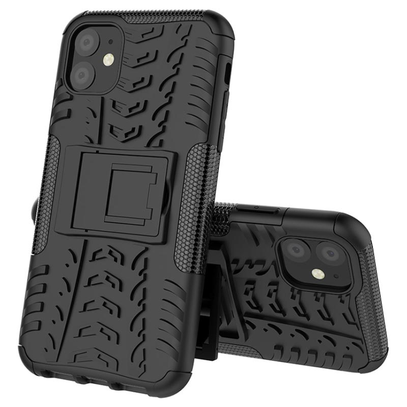 Anti-Slip iPhone 11 Hybrid Case with Stand