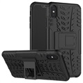 Anti-Slip iPhone XS Max Hybrid Case with Stand