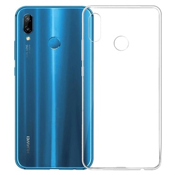 Anti-Slip Huawei P20 Lite TPU Case - Transparent