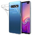 Anti-Slip Samsung Galaxy S10+ TPU Case - Transparent