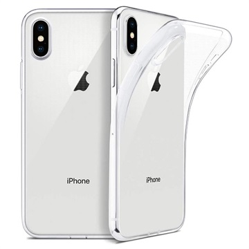 Anti-Slip iPhone XS Max TPU Case - Transparent