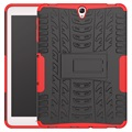 Samsung Galaxy Tab S3 9.7 Anti-slip Hybrid Case - Red / Black
