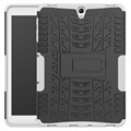 Samsung Galaxy Tab S3 9.7 Anti-slip Hybrid Case - White / Black