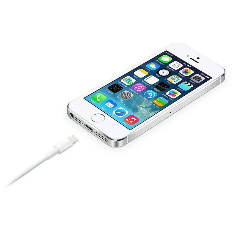Apple MD819ZM/A Lightning / USB Cable - iPhone, iPad, iPod - White - 2m