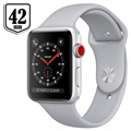 Apple Watch Series 3 LTE MQKM2ZD/A - Aluminium, Sport Band, 42mm, 16GB - Silver/Fog