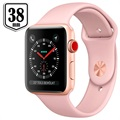 Apple Watch Series 3 MQKW2ZD/A - Aluminium, Sport Band, 38mm, 8GB - Gold/Pink Sand