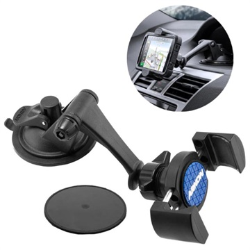 Arkon RoadVise RV179 Car Holder with Suction Mount - Black