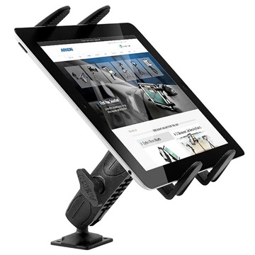 "Arkon TABRMAMPS Robust Series Drill Base Tablet Holder - 7""-18.4"""