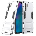 Armor Series Huawei P30 Pro Hybrid Case with Stand - Silver