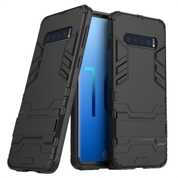 Armor Series Samsung Galaxy S10 Hybrid Case with Stand