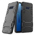 Armor Series Samsung Galaxy S10e Hybrid Case with Stand - Black