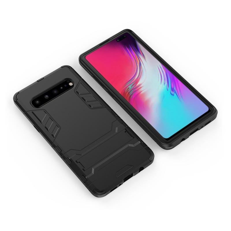 Armor Series Samsung Galaxy S10 5G Hybrid Case with Kickstand