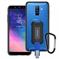 Armor-X BX3-A6P-HK Rugged Samsung Galaxy A6+ (2018) Case - Transparent / Black