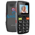 Artfone C1 Senior Phone with SOS - Dual SIM - Black / Grey