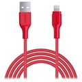 Aukey CB-AL2 MFi USB-C / Lightning Cable - 2m - Red