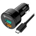 Aukey CC-T7 Qualcomm Quick Charge 3.0 Car Charger