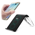 Aukey LC-C1 Three Coil Qi Wireless Charger - 5W - Black