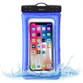 "Baseus ACFSD-A03 Air Cushion IPX8 Waterproof Case - 6"" - Blue"