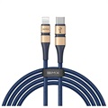Baseus BMX Double-Deck USB-C / Lightning Cable CATLSJ-BV3 - 1.8m - Blue