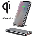 Baseus BS-10KPW02 Qi Wireless Charger / Power Bank - Black