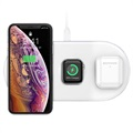 Baseus BS-IW04 Smart 3-in-1 Qi Wireless Charging Pad - 18W